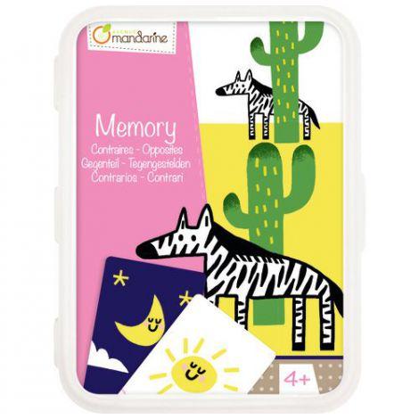 Card games, memory opposites