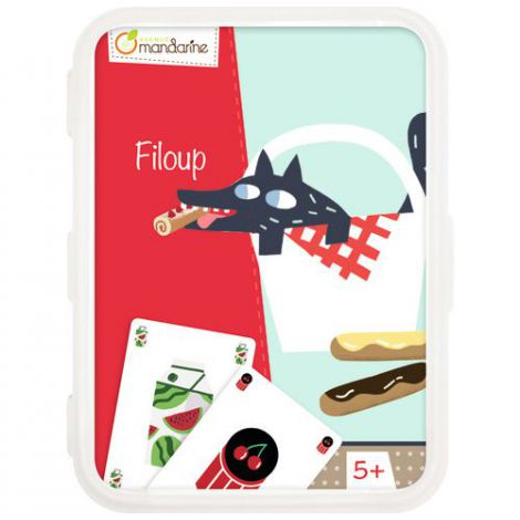 Card games, filoup