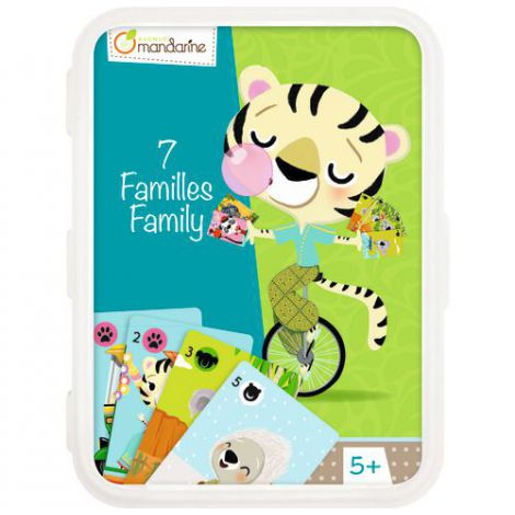 Card Games, Happy Families Endangered Animals imagine