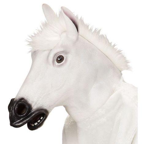 Masca cal alb