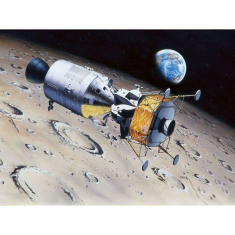 Revell apollo 11 columbia & eagle (50 years moon landing)