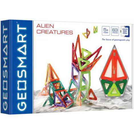 Geosmart - set creaturi extraterestre (63 piese)