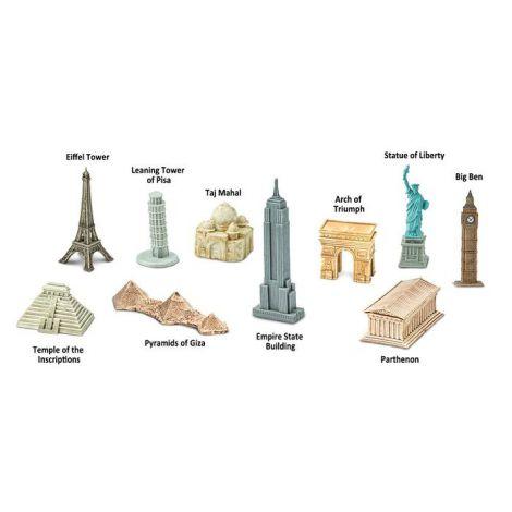 Mini Figurina - Cladiri In Jurul Lumii – Safari imagine