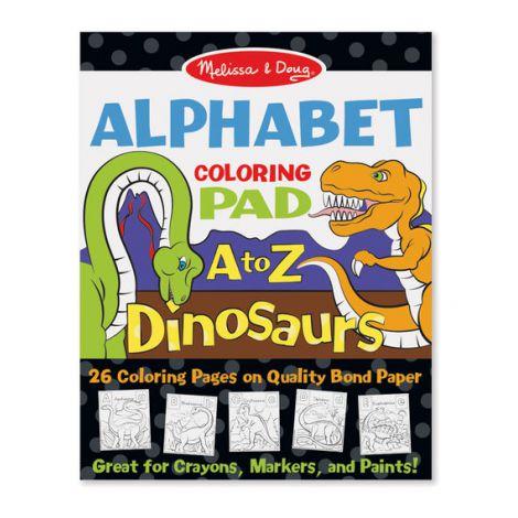 Bloc de desent Alfabetul dinozaurilor - Melissa & Doug