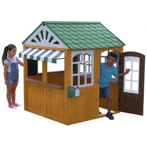 Casuta de joaca exterior din lemn pentru copii Kidkraft