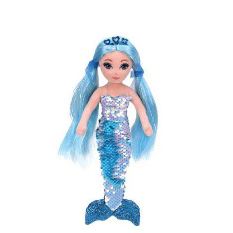 Sirena Cu Paiete Aqua, Indigo (27 Cm) - Ty imagine