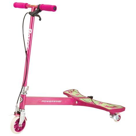 Trotineta roz: trotineta Powerwing Razor (Sweet Pea Pink)
