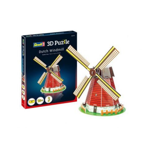 Revell mini 3d puzzle moara de vant