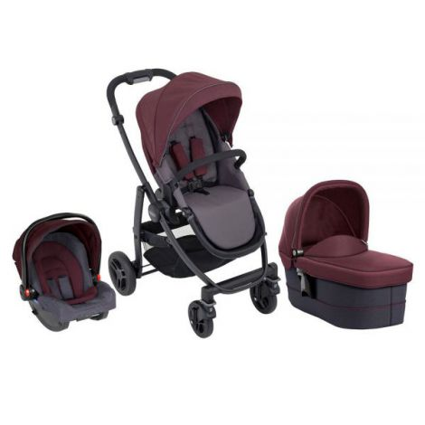 Carucior Graco Evo 3 in 1 Crimson