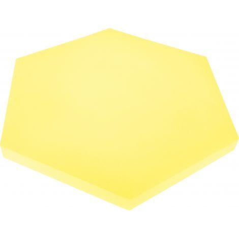 Panou hexagonal galben banana 50 mm pentru reducerea zgomotului in clasa