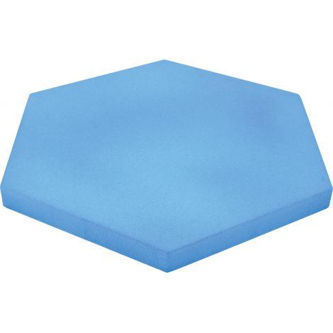 Panou hexagonal albastru baby 40 mm pentru reducerea zgomotului in clasa