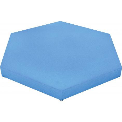 Panou hexagonal albastru baby 50 mm pentru reducerea zgomotului in clasa