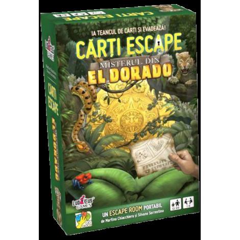 Carti Escape Misterul din Eldorado - dV GIOCHI