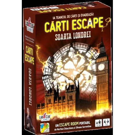 Carti Escape Soarta Londrei - dV GIOCHI