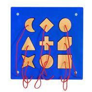 Aplicatie de perete Forme geometrice - Beleduc