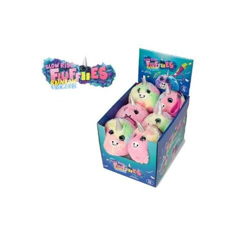 Jucarie squishy pufoasa din plus - unicorn