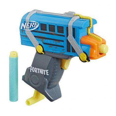 Hasbro nerf blaster fortnite battlebus