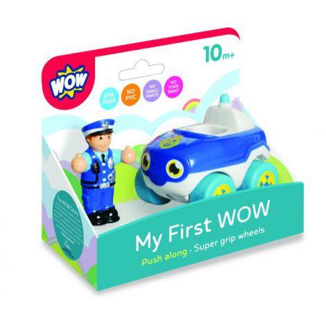 Wow my first masina de politie bobby