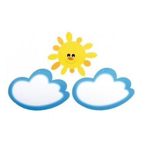 Aplicatie pentru perete – Set Nori si Soare