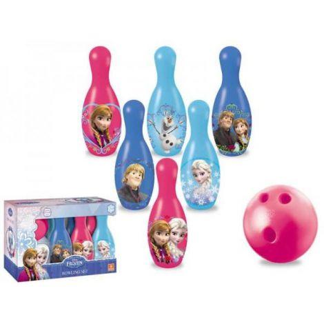 Set bowling Frozen cu popice si bila Mondo