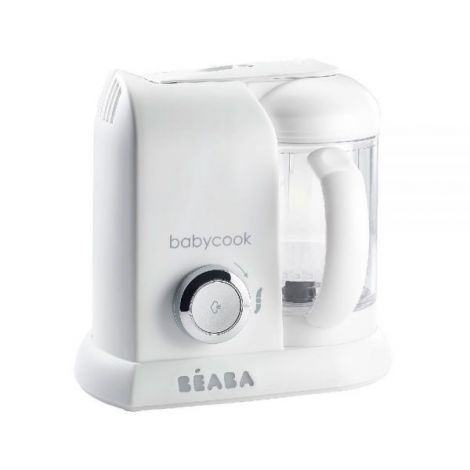 Robot Beaba Babycook Solo White/Silver