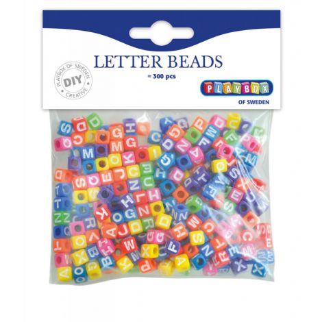 Set 300 De Margele Colorate Cu Litere - Playbox imagine
