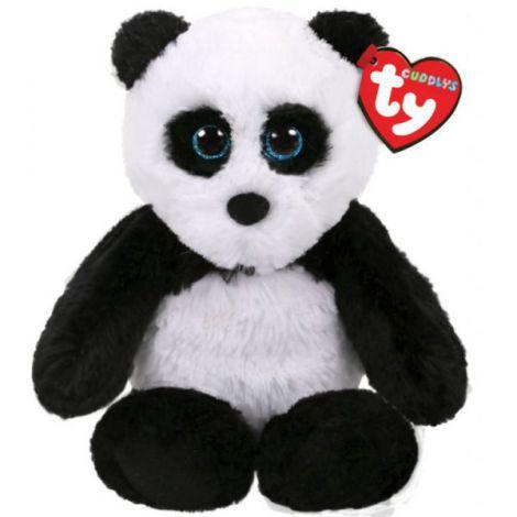 Plus ursul panda FLUFF (15 cm) - Attic Treasures, Ty