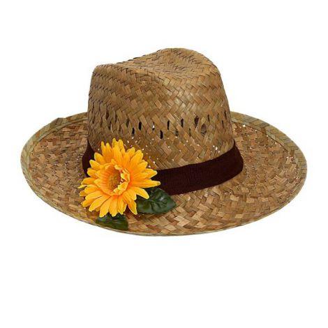 Palarie paie floarea soarelui