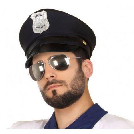 Palarie politist neagra - marimea 140 cm