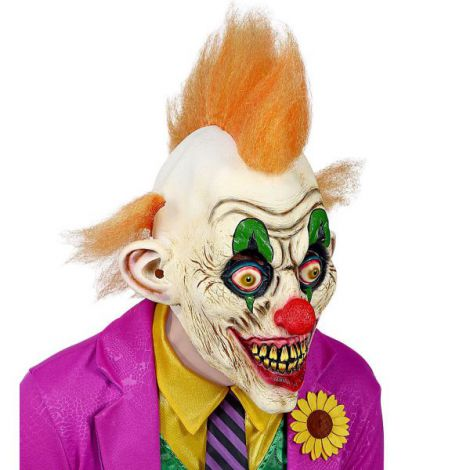 Masca clown joker - marimea 128 cm