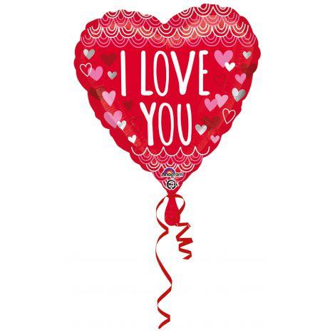 Balon folie inima 45 cm