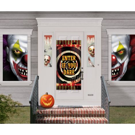 Decor scena clown horror 33 piese