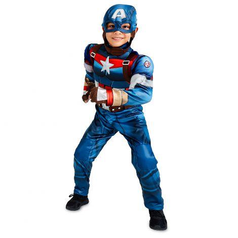 Costum capitan america 4-5 ani