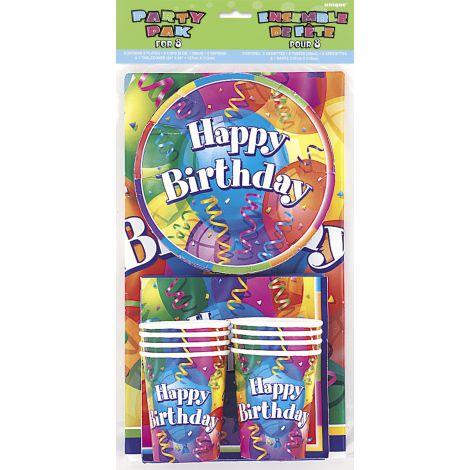 Set petrecere aniversara 8 persoane
