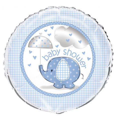 Balon folie baby shower baiat 45 cm
