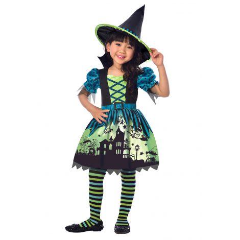 Costum vrajitoare 6-8 ani