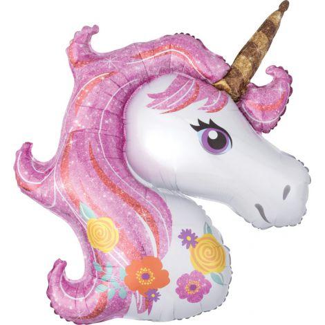 Balon folie supershape unicorn 80 cm