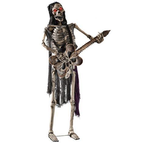 Decor schelet chitarist