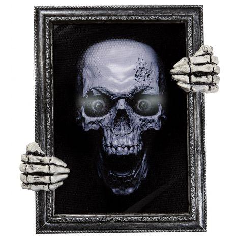Decor tablou schelet animat
