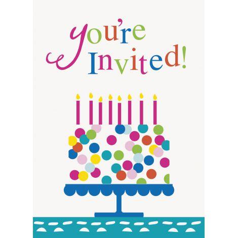 Invitatii petrecere 8 buc