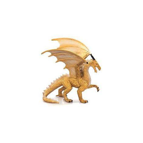 Figurina Dragon Auriu