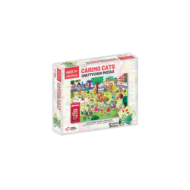Puzzle cu surprize - chatty choo (100 piese)