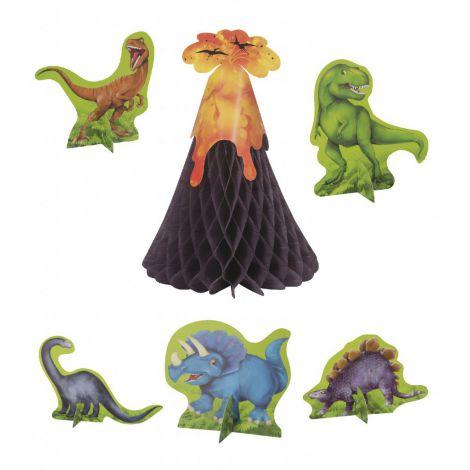 Decor Central Masa Dinozauri 6 Piese imagine