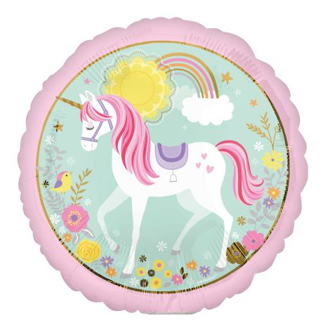 Balon folie minishape unicorn