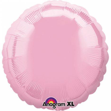 Balon folie roz cerc