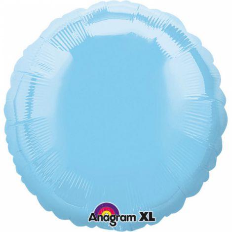 Balon folie bleu cerc