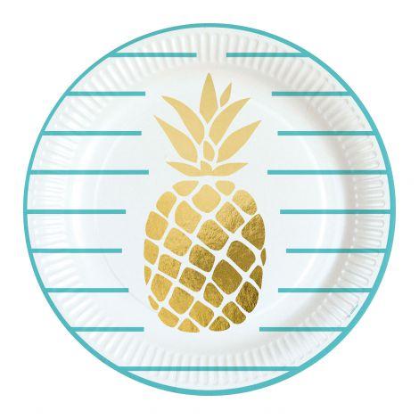 Farfurii ananas 23 cm