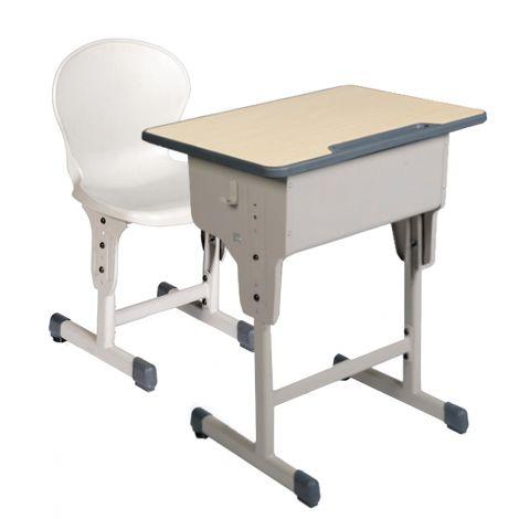 Set mobilier scolar individual cu inaltime reglabila 64 - 79