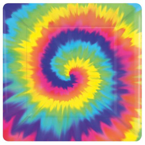 Set 8 farfurii hippie