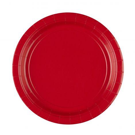 Set 8 fafurii rosii